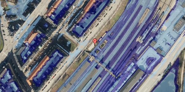 Ekstrem regn på Østbanegade 10, 2100 København Ø