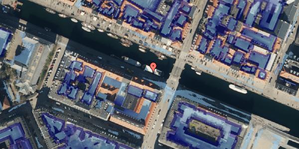Ekstrem regn på Nyhavn 26, 1. , 1051 København K