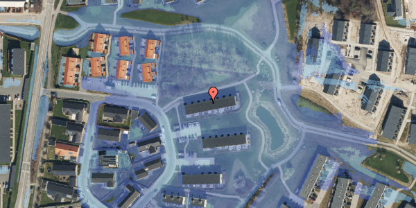 Ekstrem regn på Bovneager 63, 2600 Glostrup