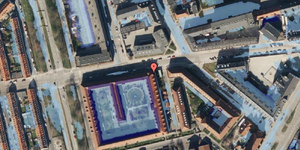 Ekstrem regn på Aldersrogade 15, 2100 København Ø