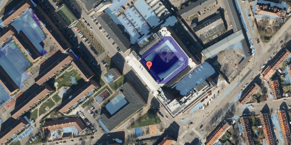 Ekstrem regn på Vermundsgade 38, kl. , 2100 København Ø