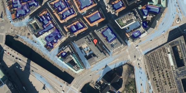 Ekstrem regn på Admiralgade 29, 1066 København K