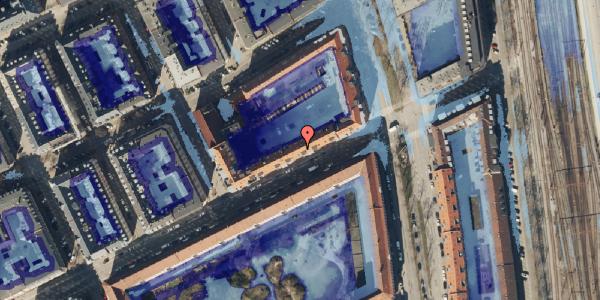 Ekstrem regn på Classensgade 63, 4. mf, 2100 København Ø