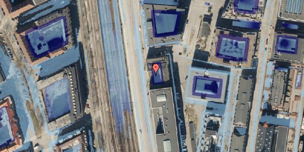 Ekstrem regn på Amerika Plads 19A, 1. , 2100 København Ø