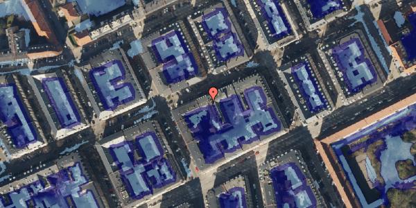 Ekstrem regn på Willemoesgade 52A, 2100 København Ø