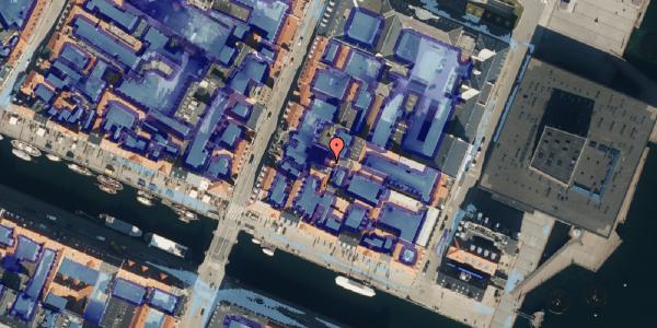 Ekstrem regn på Nyhavn 53C, 1. , 1051 København K