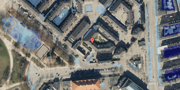 Ekstrem regn på Serridslevvej 2C, 2. , 2100 København Ø