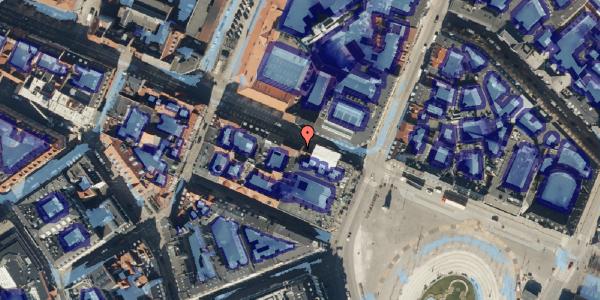 Ekstrem regn på Gothersgade 9, 1123 København K