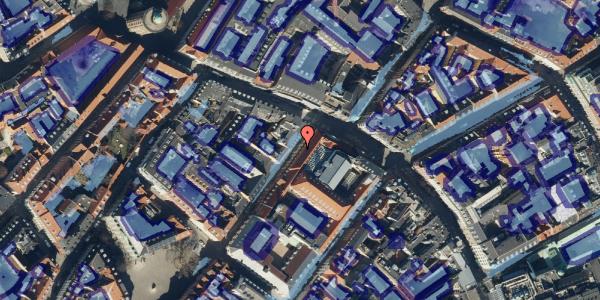 Ekstrem regn på Løvstræde 1, 1152 København K