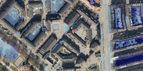 Ekstrem regn på Østerfælled Torv 26, 2100 København Ø