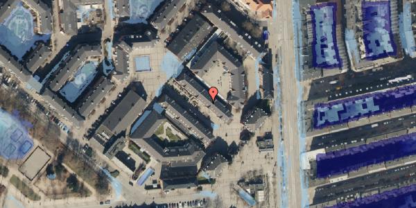 Ekstrem regn på Østerfælled Torv 20, st. , 2100 København Ø