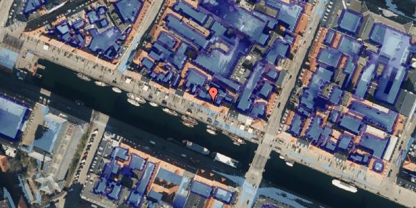 Ekstrem regn på Nyhavn 37, kl. 1, 1051 København K