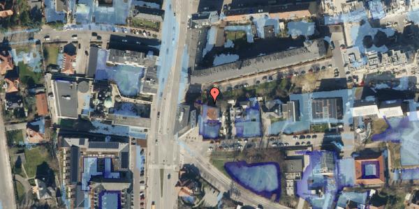 Ekstrem regn på Strandvejen 32G, 2100 København Ø