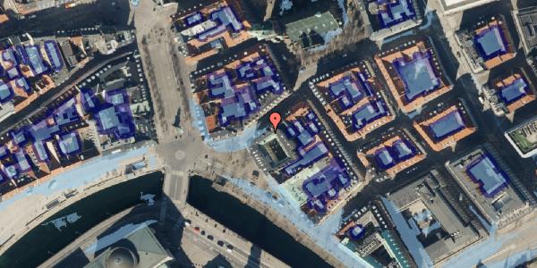 Ekstrem regn på Fortunstræde 7, 1065 København K