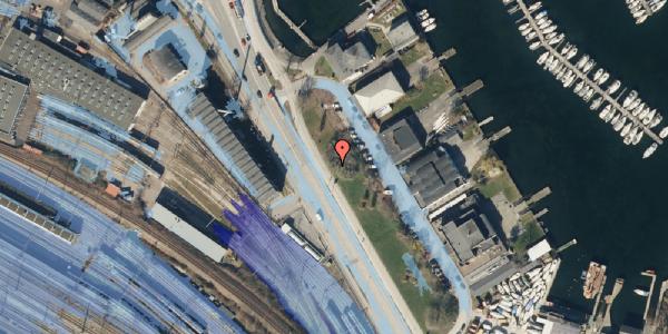 Ekstrem regn på Strandvænget 51B, 2100 København Ø