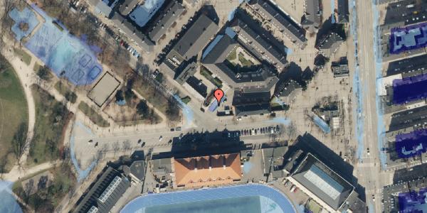 Ekstrem regn på Serridslevvej 2, st. , 2100 København Ø