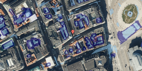 Ekstrem regn på Ny Østergade 1, 1. , 1101 København K