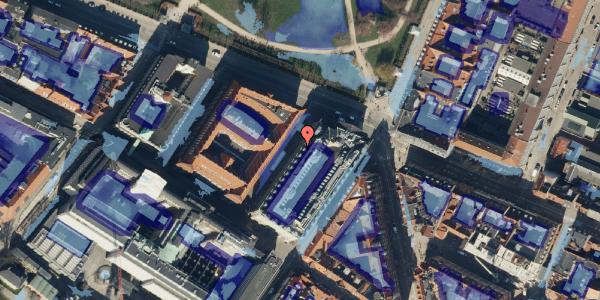 Ekstrem regn på Sjæleboderne 4, 3. th, 1122 København K
