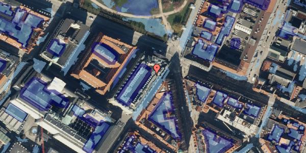 Ekstrem regn på Møntergade 21, 1116 København K