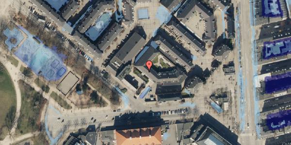 Ekstrem regn på Serridslevvej 2C, kl. 4, 2100 København Ø