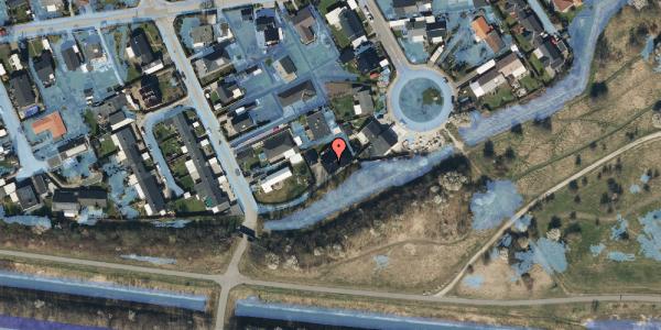 Ekstrem regn på Strandholms Alle 55B, 2650 Hvidovre