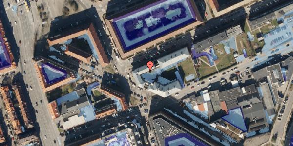 Ekstrem regn på Venøgade 2, 1. , 2100 København Ø