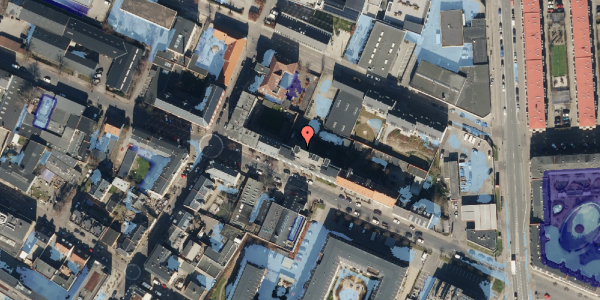 Ekstrem regn på Rentemestervej 42B, 1. 2, 2400 København NV