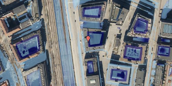 Ekstrem regn på Kalkbrænderihavnsgade 4B, 3. th, 2100 København Ø