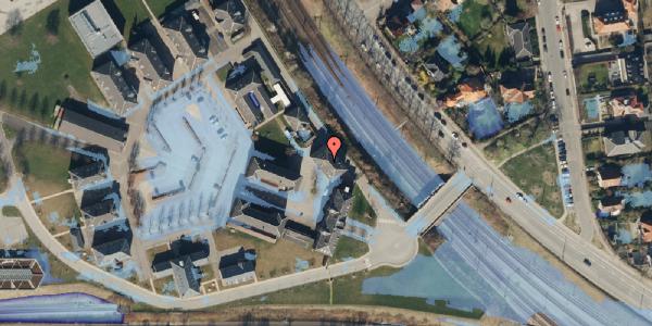 Ekstrem regn på Svanemøllens Kaserne 5, 2. 210, 2100 København Ø