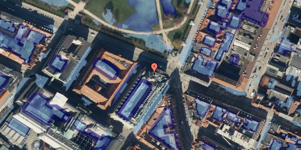 Ekstrem regn på Gothersgade 49, 4. , 1123 København K