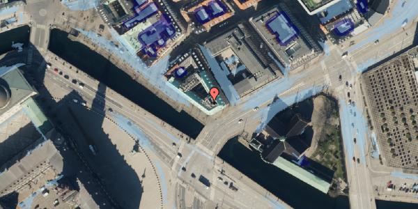Ekstrem regn på Ved Stranden 2, 1061 København K