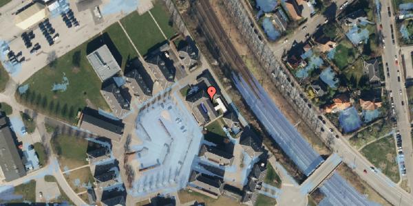 Ekstrem regn på Svanemøllens Kaserne 116, 2100 København Ø