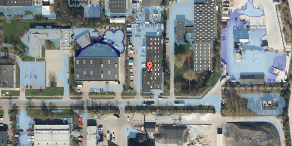 Ekstrem regn på Ejby Industrivej 28B, 2600 Glostrup