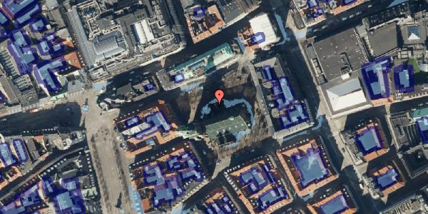Ekstrem regn på Nikolaj Plads 10, 3. , 1067 København K