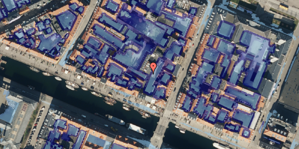 Ekstrem regn på Nyhavn 43A, 4. , 1051 København K