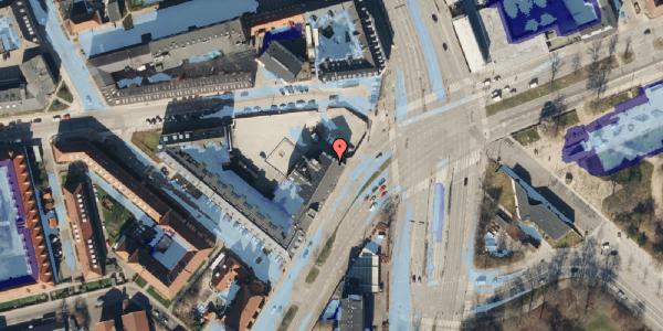 Ekstrem regn på Jagtvej 169A, 1. , 2100 København Ø