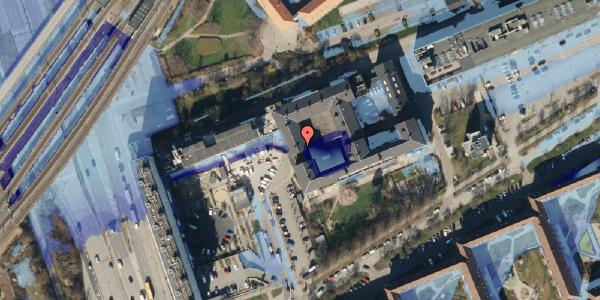 Ekstrem regn på Hans Knudsens Plads 3D, 3. , 2100 København Ø