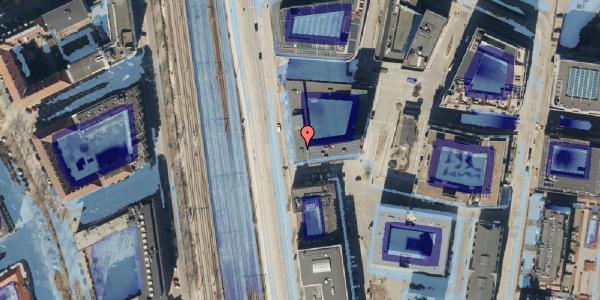 Ekstrem regn på Kalkbrænderihavnsgade 4A, 1. th, 2100 København Ø