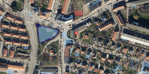 Ekstrem regn på Skoleholdervej 95, 1. mf, 2400 København NV