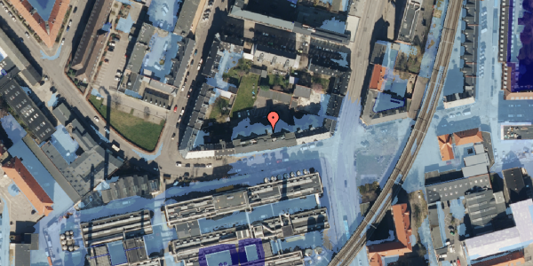 Ekstrem regn på Glentevej 10, 1. 7, 2400 København NV