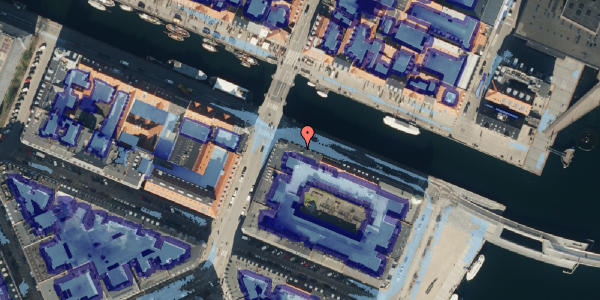 Ekstrem regn på Nyhavn 38, 5. th, 1051 København K