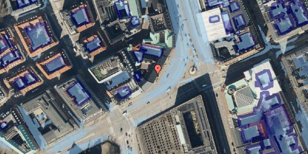 Ekstrem regn på Holmens Kanal 14, 1. , 1060 København K