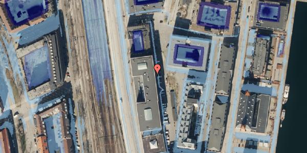 Ekstrem regn på Amerika Plads 15, 2. , 2100 København Ø