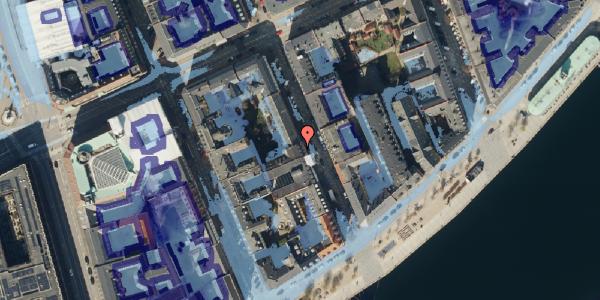 Ekstrem regn på Peder Skrams Gade 22, 3. , 1054 København K
