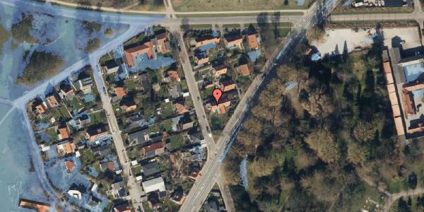 Ekstrem regn på Støvnæs Allé 44, 2400 København NV