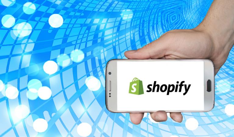 magazzino con shopify