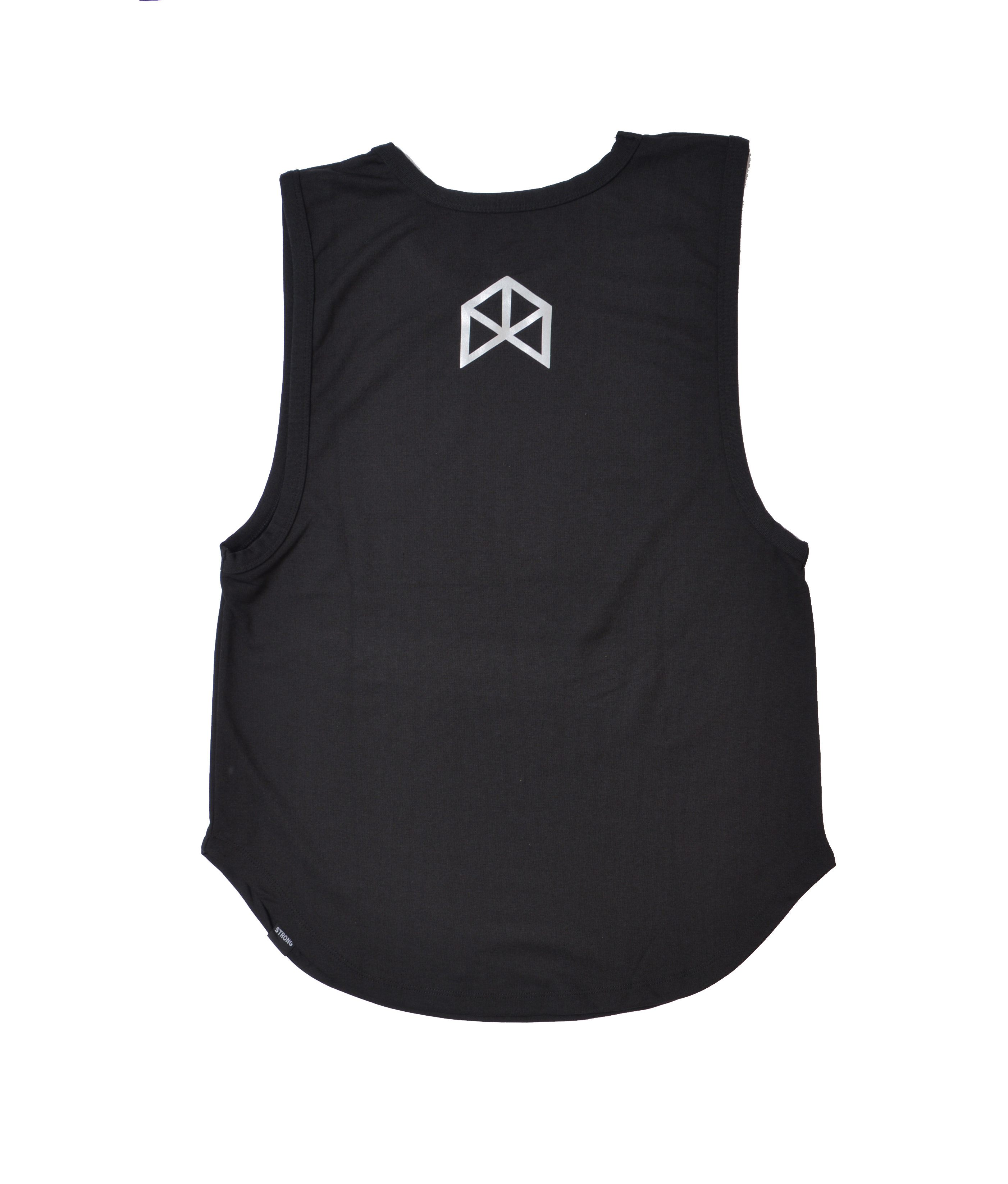 BMFIT Polyester Muscle Tanks - Black