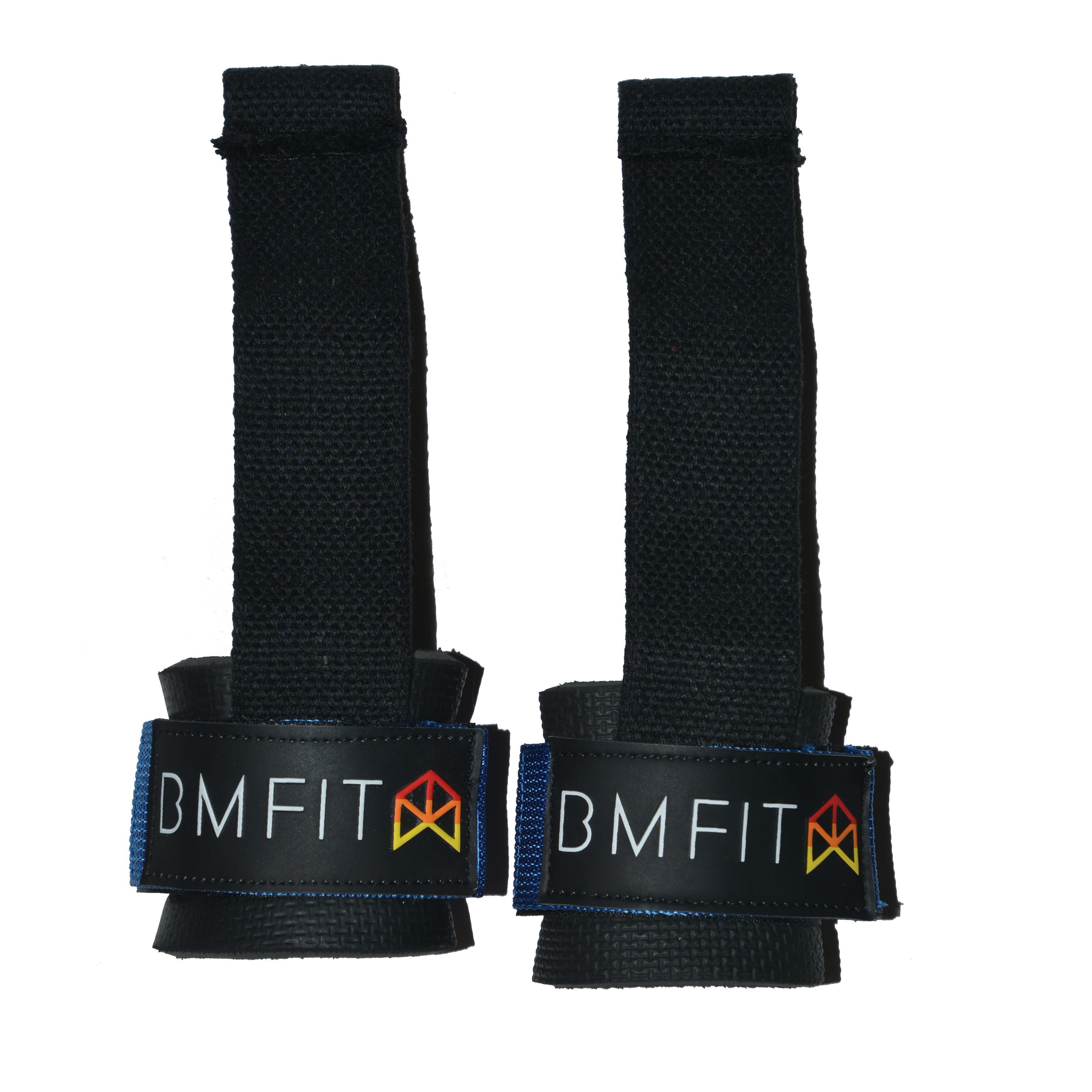 BMFIT Bodybuilding Straps - Blue