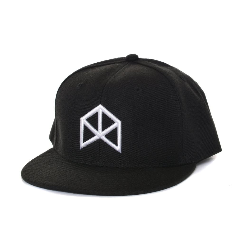 BMFIT Basic Black Snapback - White Logo