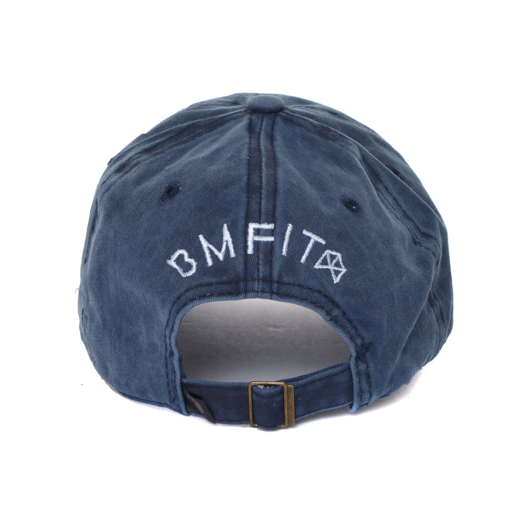 BMFIT Vintage Acid Wash Hat - Blue
